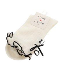 PINK-latte/メローリボンソックス/500324489
