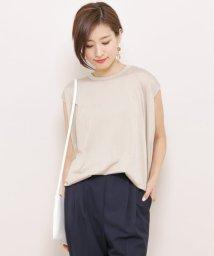 SENSE OF PLACE/バックドローストリングTシャツ(ノースリーブ)/500324901