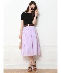 Mystrada/【VERY 6月号掲載】カラーボイルスカート/500222527