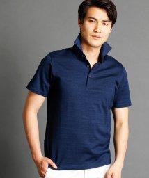 MONSIEUR NICOLE/インディゴ風ポロシャツ/500310376