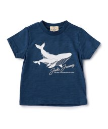 green label relaxing (Kids)/【ベビー】クジラプリント Tシャツ ショートスリーブ/500319257