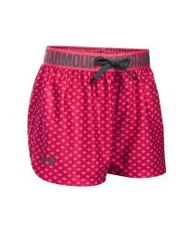 UNDER ARMOUR/アンダーアーマー/キッズ/UA PRINTED PLAY UP SHORT/500326796