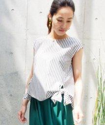 STRAWBERRY FIELDS/サイド裾縛りブラウス/500302409
