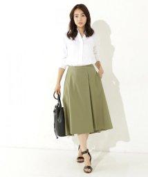 NIJYUSANKU/【洗える!】コットンツイルタイプライター スカート/500328512