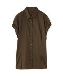PROPORTION BODY DRESSING/《BLANCHIC》ナイルサテンシャツ/500328782