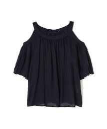 PROPORTION BODY DRESSING/《BLANCHIC》シルキーローンブラウス/500328783