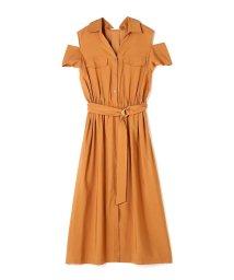PROPORTION BODY DRESSING/《BLANCHIC》ミリタリーツイルワンピース/500328795
