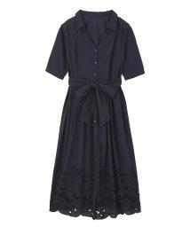 PROPORTION BODY DRESSING/《EDIT COLOGNE》エンブロイダリーガウンシャツワンピース/500328800