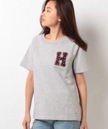 TOMMY HILFIGER WOMEN/ロゴボアTシャツ/500316379