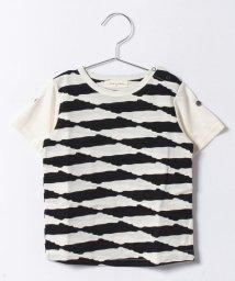 SENSE OF WONDER/タックボーダーTシャツ/500315041