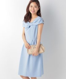 form forma/【結婚式・お呼ばれ対応】リボンデザインケープ付き2WAYドレス/500318188