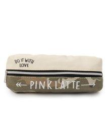 PINK-latte/柄切替ポーチ/500331286