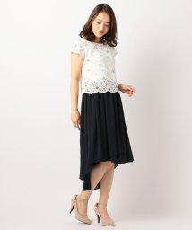 MISCH MASCH/刺繍レースイレヘムマキシワンピース/500149959