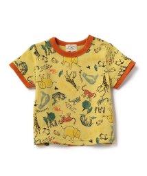 green label relaxing (Kids)/【BABY】アニマルソウガラ Tシャツ ショートスリーブ/500191629