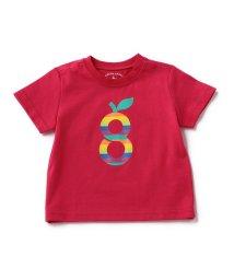 green label relaxing (Kids)/【BABY】オーガニックコットン gロゴプリント Tシャツ ショートスリーブ/500209933