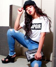 ANAP GiRL/BOXロゴBIGTシャツ/500325095