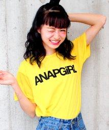 ANAP GiRL/シンプルロゴTシャツ/500325096