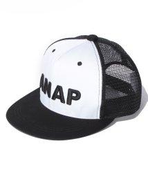 ANAP KIDS/3D刺繍ロゴメッシュCAP/500325099