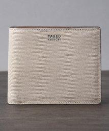 TAKEO KIKUCHI/ミニメッシュ2つ折り財布/500333543