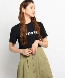 DRESSTERIOR/A FINE LINE ロゴTシャツ/500333575