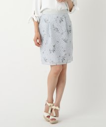 MISCH MASCH/【Ray7月号/美人百花6月号掲載】花柄プリントレーススカート/500149957