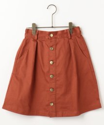 Ray Cassin /前ボタン台形スカート/500211776