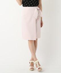 MISCH MASCH/【美人百花6月号掲載】リボンラップタイトスカート/500227457
