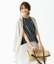 NIJYUSANKU/【完売カラー追加】レーヨンキュプラシャインフライス ロングカーディガン/500338238