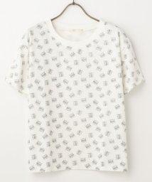 Ray Cassin /総猫柄Tシャツ/500211945