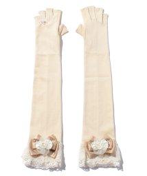 axes femme/バラコサージュUVロング手袋/500329951