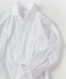 SHIPS MEN/SC: サテン/カラミ セミワイドカラー 7スリーブシャツ/500340621