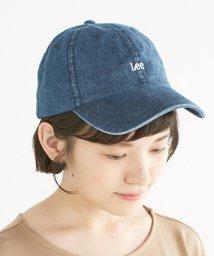 haco!/Lee シンプルがかわいい刺しゅうロゴキャップ/500286524