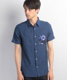 JNSJNM/【FORT POINT】ボタニカルポケットシャツ/500330486
