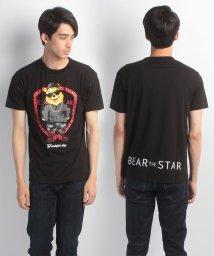JNSJNM/【BEAR THE STAR】プリントTシャツ/500330489