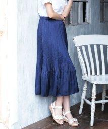 Bou Jeloud/【WEB限定】【キレイ色】サテンプリーツスカート/500334547