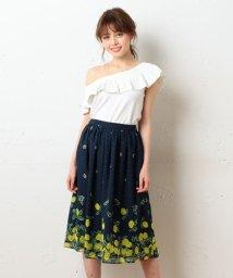 MIIA/ギャザーフレアースカート/500336038