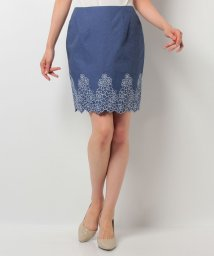 31 Sons de mode/裾刺繍タイトスカート/500342329