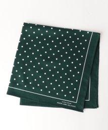 green label relaxing/GLR*B/N DOT ハンカチ/500343255