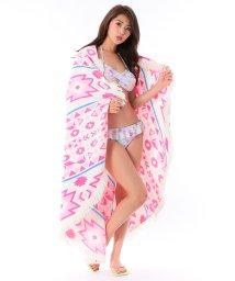 VacaSta Swimwear/【CALIFORNIA SHORE】エスニック柄ラウンドタオル/500331887
