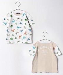 kladskap/サボテン恐竜総柄半袖Tシャツ/500338848