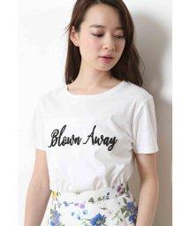 JUSGLITTY/刺繍ロゴTシャツ/500345344