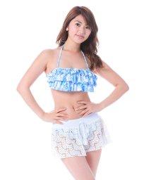 VacaSta Swimwear/【REYES REYES】フリルバンドゥービキニパンツセット/500331477