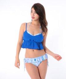 VacaSta Swimwear/【REYES REYES】フラワープリントツイストバンドゥービキニキャミセット/500331940