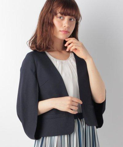 【OFUON(オフオン)】ケープジャケット