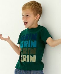 green label relaxing (Kids)/【キッズ】GLR フロッキーロゴ Tシャツ/500345616