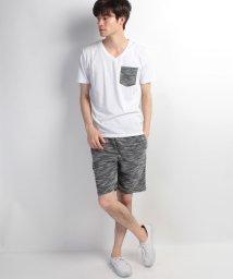 JNSJNM/【LOCK HEAVEN】Tシャツ+オニスラブショーツセットアップ/500334878