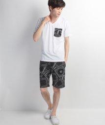 JNSJNM/【LOCK HEAVEN】Tシャツ+ペイズリーショーツセットアップ/500334879
