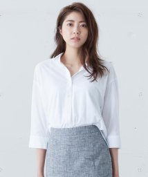 ICB(LARGE SIZE)/【洗える】Sapphire Cool シャツカットソー/500349151
