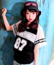 ANAP GiRL/メッシュ切替BIGTシャツ/500341548