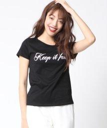 VICKY/フロッキーロゴTシャツ/500349620